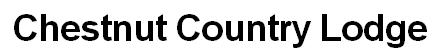 Chestnut Country LOdge -logo