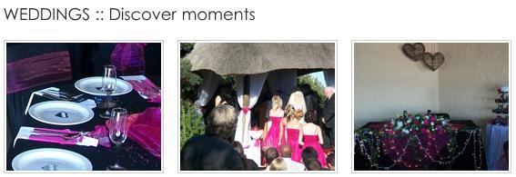 Vaal Nest - weddings