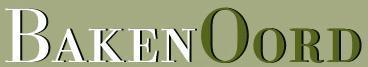 Baken Oord - logo