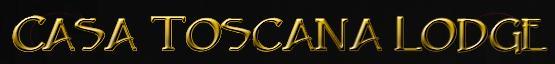 Casa Toscana Lodge - logo