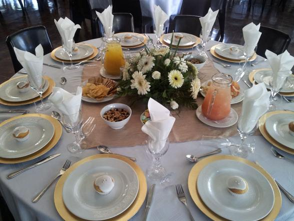 Cullinan Diamond Lodge - banquet table