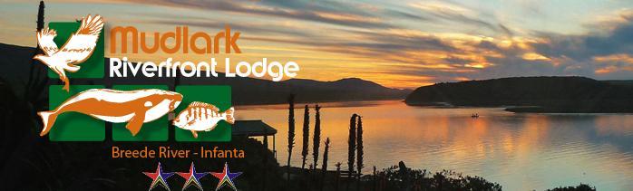 Mudlark River Front Lodge - main and logo