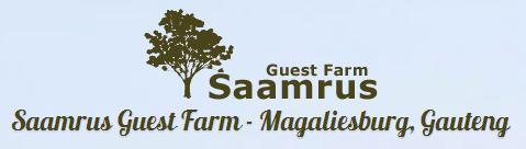Saamrus Guest Farm - logo
