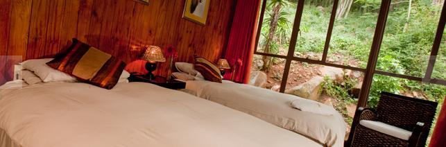 Bergwaters Eco Lodge - bedroom