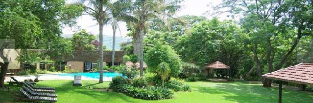 Bergwaters Eco Lodge - gardens