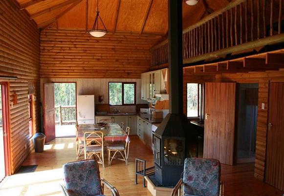 Blaaubosch Trout Inn - interior