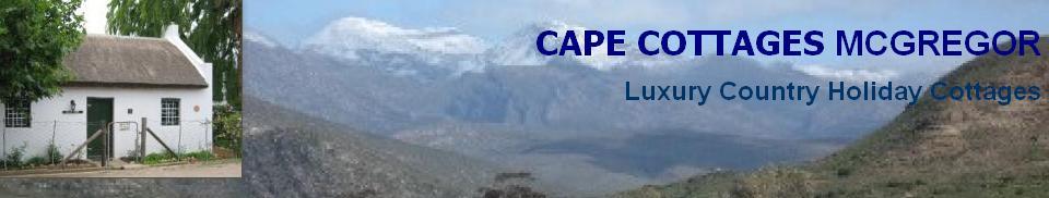 Cape Cottages McGregor - logo