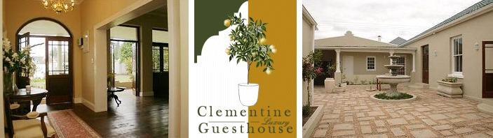 Clementine Guesthouse - main and logo