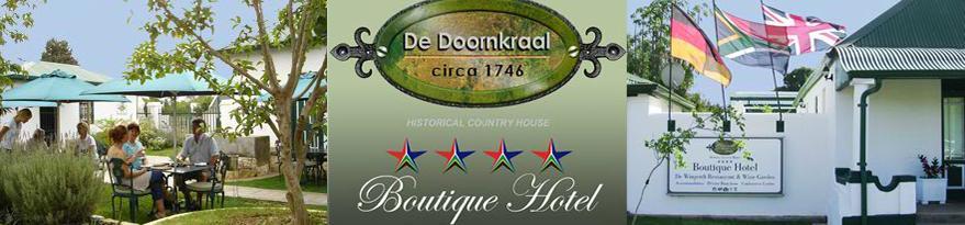 De Doornkraal Boutique Hotel - logo