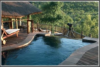 Etali Lodge - swimming pool