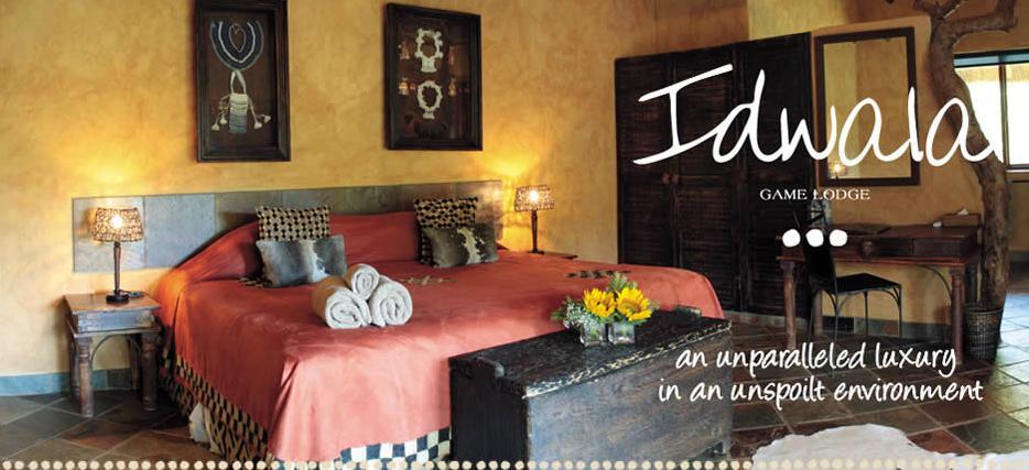 Idwala Game Lodge - bedroom
