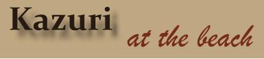 Kazuri@The Beach - logo