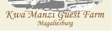 Kwa Manzi Guest Farm - logo