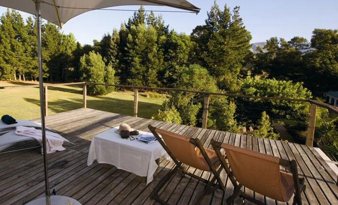 Villa Exner Boutique Hotel - wooden deck