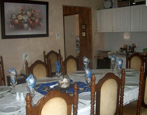 Panorama B&B - dining room