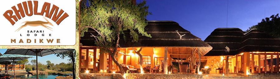 Rhulani Safari Lodge - main and logo