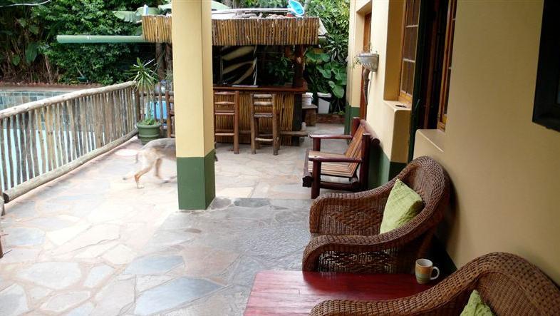 Botany Bay Lodge - verandah