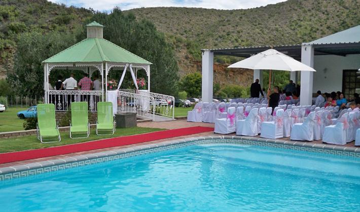 Old Mill Lodge - pool and wedding venue