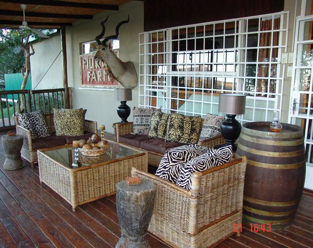 Mukwa Farm - verandah