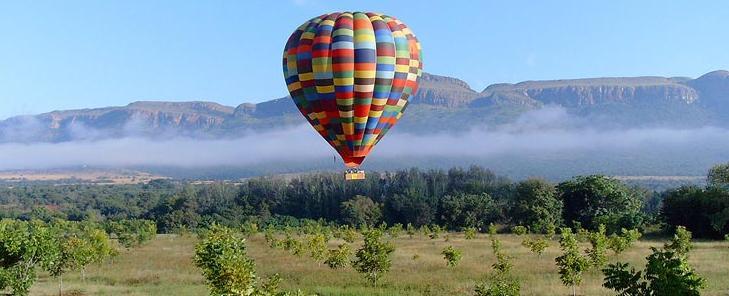 Brown's Cabin - balloon