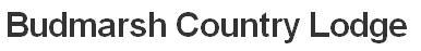 Budmarsh Counry Lodge - logo