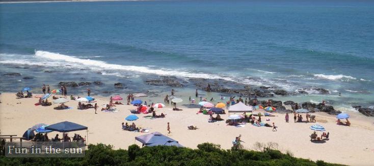 At the Beach - Jeffreys Bay