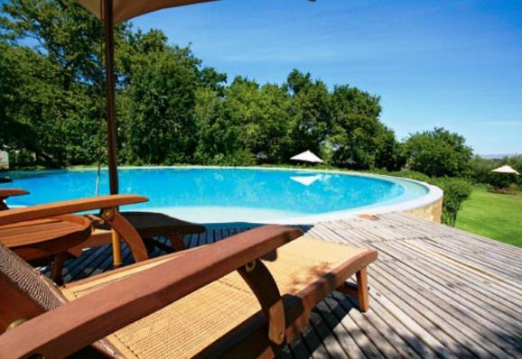 Bartholomeus Klip Farmhouse - pool
