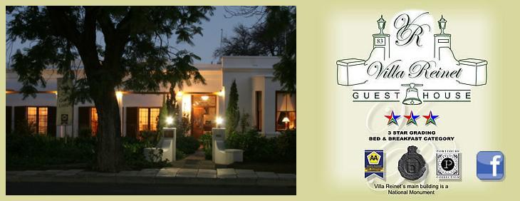 Villa Reinet - main logo