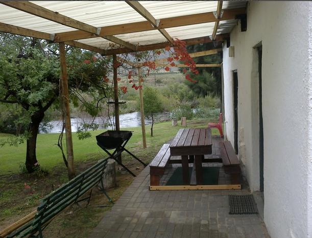 Boskloof self -catering - patio