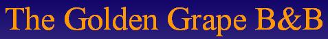 The Golden Grape - logo