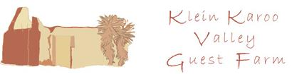 Klein Karoo Valley Guest Farm - logo