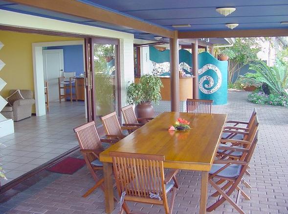 Wailana - patio