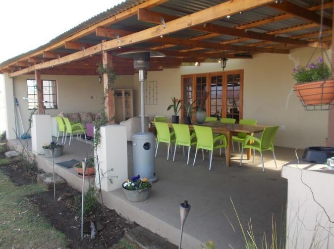 Forellenhof - verandah