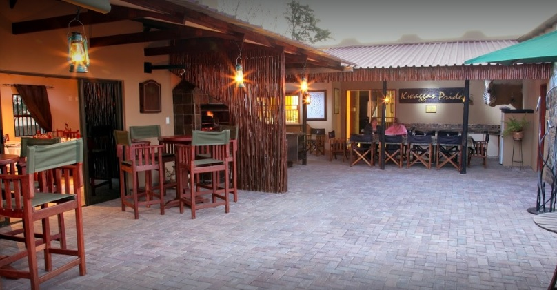 Kwaggas Pride - outdoor dining