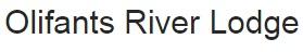 Olifants River Lodge - logo
