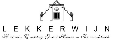 Lekkerwijn Historic Country House - logo