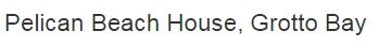 Pelican Beach House -logo