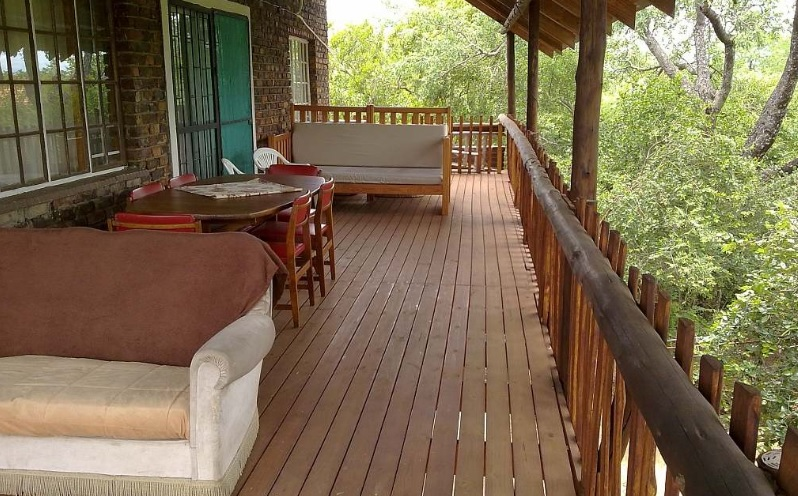 Rhulani - veranda