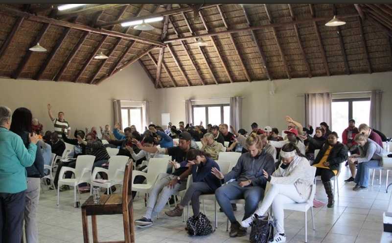 Waterberg Lodge - meeting